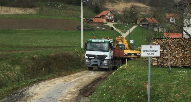 Rekonstrukcija Nerazvrstane Ceste Lončarov Put – Donji Škrnik